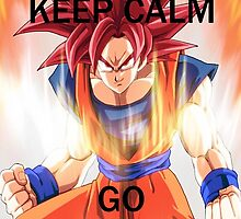 Don't Keep Calm, Go Super Saiyan (5) by LagrangeMulti