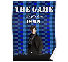 Sherlock - The game is on Poster