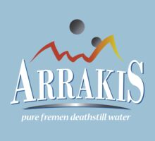 Arrakis Water Company (Dune) One Piece - Short Sleeve