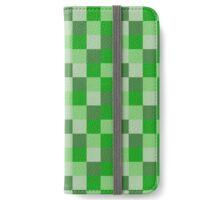 Minecraft Pattern iPhone Wallet/Case/Skin
