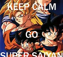 Don't Keep Calm, Go Super Saiyan (2) by LagrangeMulti