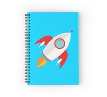 A rocket that rocks Spiral Notebook