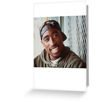 2pac White Sox Hat Greeting Card