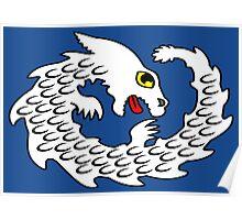 Cute Falkor The Luck Dragon Design Poster