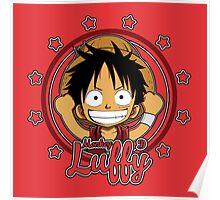 ONE PIECE: Monkey D Luffy Chibi Poster