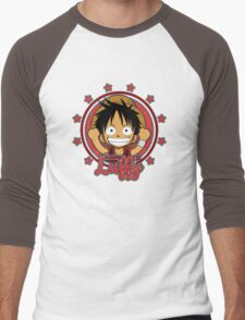 ONE PIECE: Monkey D Luffy Chibi Men's Baseball ¾ T-Shirt