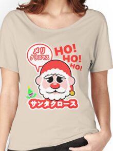 Super Kawaii Santa Claus Women's Relaxed Fit T-Shirt