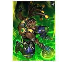 Overwatch Lucio Photographic Print