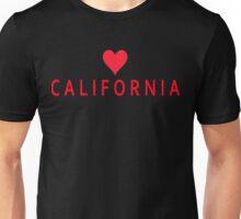 Califoria with Heart Love Unisex T-Shirt