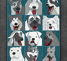 Dogs by Janet Carlson