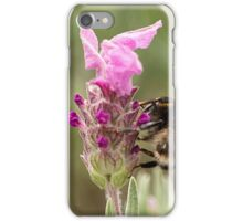 Bumble Bee in the garden iPhone Case/Skin