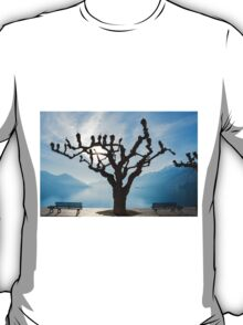 Tree and bench T-Shirt