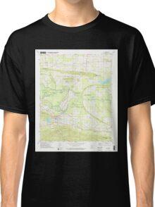 USGS TOPO Map Arkansas AR Ola 259292 1972 24000 Classic T-Shirt