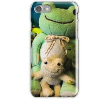 pickles frog family iPhone Case/Skin