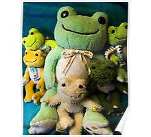 pickles frog family Poster