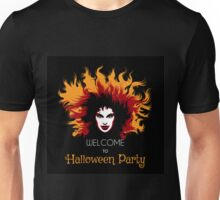 Welcome to Halloween Party Poster Unisex T-Shirt
