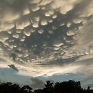 Bizarre Mammatus Clouds After a Storm by Georgia Mizuleva