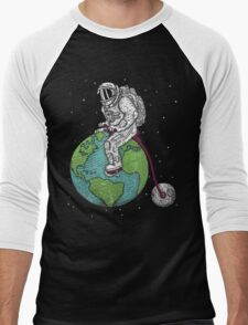 Space Man Men's Baseball ¾ T-Shirt