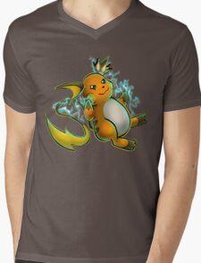 King of Lightning Mens V-Neck T-Shirt