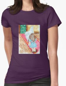Diana and Anne Womens Fitted T-Shirt