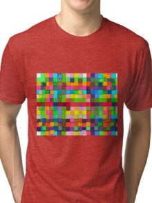 Colorful vector sticky notes Tri-blend T-Shirt