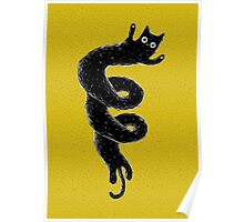 Twisted Cat Poster