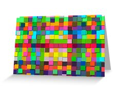 Colorful vector sticky notes Greeting Card