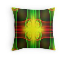 Color Crossing Throw Pillow