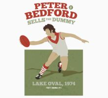 Peter Bedford, South Melbourne - white shirts by Chris Rees