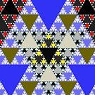 Sierpinski Triangles by Rupert Russell