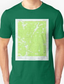 USGS TOPO Map Arkansas AR Weathers 259836 1973 24000 Unisex T-Shirt