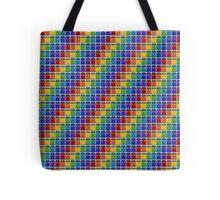 Police Box Rainbow Tote Bag