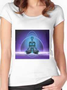 Astral Travel Women's Fitted Scoop T-Shirt
