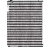 PERCEPTION iPad Case/Skin