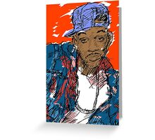 90s Style Fresh Prince  Greeting Card