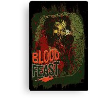 Blood Feast Canvas Print