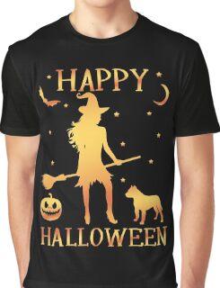 Happy Halloween, Funny Halloween Custom Gift For Men Or Women Graphic T-Shirt