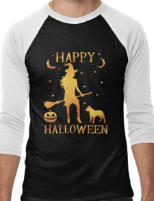 Happy Halloween, Funny Halloween Custom Gift For Men Or Women Men's Baseball ¾ T-Shirt