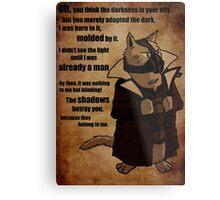 Bane's Cat Rises! Metal Print