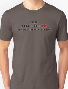 Secert of Life - Konami Code Unisex T-Shirt