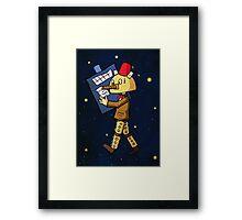 Halloween Doctor Who Framed Print