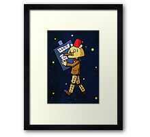 Halloween Doctor Who Framed Print