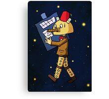 Halloween Doctor Who Canvas Print