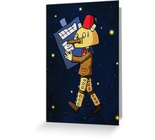 Halloween Doctor Who Greeting Card