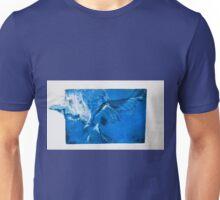 Soaring 2--Blue Eagle Unisex T-Shirt