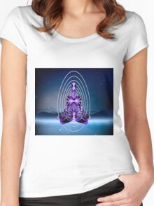 Astral Travel (part 2, Mountains of Loneliness) Women's Fitted Scoop T-Shirt