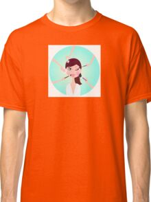 Make - up woman - facial treatment services Classic T-Shirt