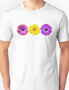 Three Little Flowers Unisex T-Shirt