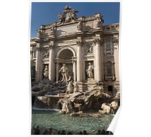 Toss a Coin to Return - Trevi Fountain, Rome, Italy Poster