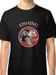 Fishing Shirt. Bass Fishing Hobby T-Shirt Classic T-Shirt